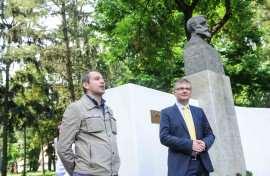 Ovidiu Draganescu si Dan Diaconu PNL 140 ani Timisoara Foto Costi Duma