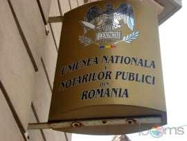 Uniunea Notarilor Publici sigla