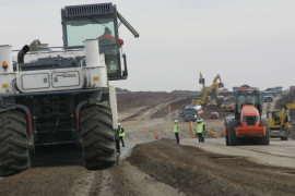 Constructie autostrada Timisoara Lugoj
