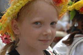 Copil la Festivalul etniilor