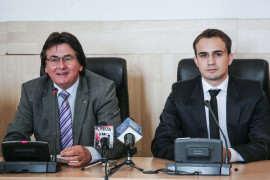 Nicolae Robu primar, Robert Kristof consilier personal al primarului Foto Costi Duma