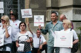 Protest M10 Timis pentru egalitatea cetatenilor in fata legii (12) Foto Costi Duma
