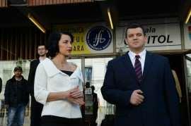 Roxana Iliescu si Eugen Tomac Foto Arhiva Roxana Iliescu