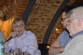 Vladimir Tismaneanu, Marius Stan si Cornel Ungureanu Foto Ligia Hutu