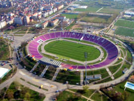 Stadion Dan Paltinisanu Foto CJ Timis