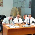 Semnare acord colaborare UVT Universitatea Obuda Budapesta