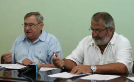 Ioan Cojocari si Gheorghe Ciuhandu (0) Foto Opinia Timisoarei