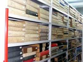 Carti vechi la Biblioteca Centrala Universitara Timisoara