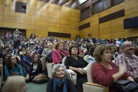 Conferinta Andrei Plesu la Timisoara Foto Mirela Corcosa