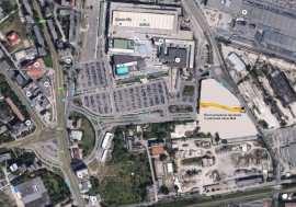 Harta acces parcare Iulius Mall