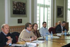 Marius Martinescu, Petrisor Morar, Alexandru Arion PMP si Marian Vasile (o) Foto Costi Duma