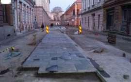 Schimbare piatra cubica Timisoara Foto Adevarul