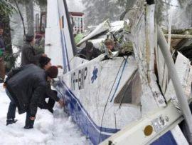 Accident aviatic Apuseni Foto Mediafax