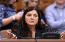 Candidata pentru functia de ministrul Justitiei, Raluca Pruna, este audiata de Comisia juridica, de disciplina si imunitati, la Palatul Parlamentului, marti, 17 noiembrie 2015. SILVIA ILIE / MEDIAFAX FOTO