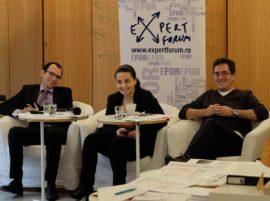 Septimius Parvu, Laura Stefan si Sorin Ionita Foto Expert Forum