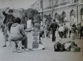 Piata Universitatii 1990