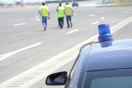 Paza autostrada Foto Aradon
