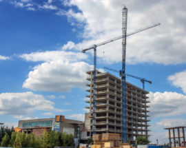 Cladire UBC2 in constructie