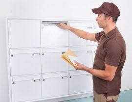 distributie cutii postale