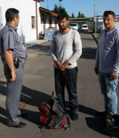 Afgani trecere frauduloasa frontiera (2) Foto ITPF Timisoara
