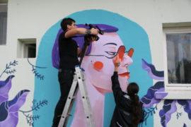Graffiti alina-bohoru-fisart-st-bega