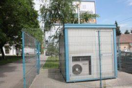 Statie monitorizare calitatea aerului Timisoara Foto Tion