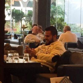 Zaher Iskandarani la cafea in Liban