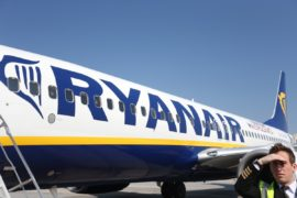 Aeronava Ryanair la Timisoara (2)